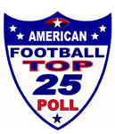 American top 25 poll small